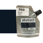 Sennelier Abstract Matt Soft Body Acrylic Paynes Grey 60ml