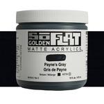Golden SoFlat Matte Acrylic 16 oz Payne'S Gray