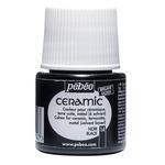 Pebeo Ceramic Color Black 45 ml