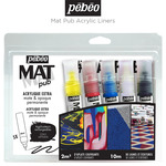 Pebeo Mat Pub Acrylic Liners