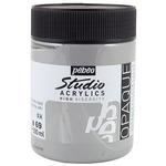 Pebeo Studio Acrylics Dark Neutral Gray 500ML