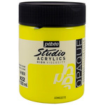 Pebeo Studio Acrylics Lemon Cadmium Yellow 500ML