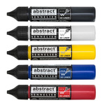 Sennelier Abstract Acrylic 3d Liner 27ml Peggable Set of 5