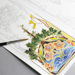 Pepin Coloring Books, Tiles and Postcards