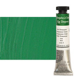 Sennelier Egg Tempera 21 ml Tube - Permanent Green