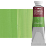 LUKAS 1862 Oil Color 37 ml Tube - Permanent Green Yellowish