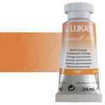 LUKAS Aquarell 1862 Watercolor 24 ml Tube - Permanent Orange (Helio Genuine Yellow Deep)