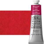 Winsor & Newton Professional Watercolor 37 ml  Paint Tube - Permanent Rose