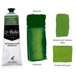 Chroma Atelier Interactive Artists Acrylic Permanent Sap Green 80 ml