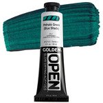 Golden Open Acrylic 2 oz Tube - Phthalo Green (Blue Shade)