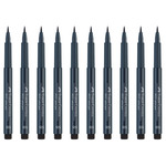 PITT Soft Brush Pen Box of 10 - Soft Dark Indigo
