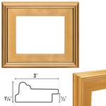 "Plein Air Frame Single 12x16"" - Gold"