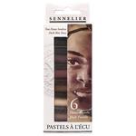Sennelier Soft Pastel Half Stick Set Portrait Dark