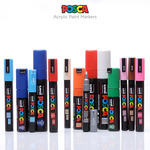 Posca Acrylic Paint Drawing Tip Markers