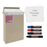 Poster & Sign Making Complete Kit, Foam board & Markers