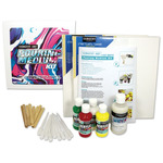 Sargent Art 8 oz Pouring Medium Kit w/ 4 oz Paint (4) & Accessories