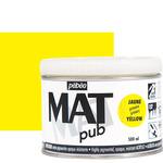 Pebeo Acrylic Mat Pub 500ml - Primary Yellow