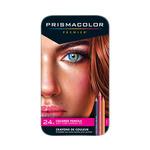 Prismacolor Premier Colored Pencils Tin Set of 24 Portrait Colors - Portrait Colors