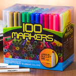 Pro Art 100 Color Bullet Nib Marker Set With Stand