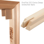 "ProFile 2.5"" Extra Deep Stretcher Bars"