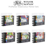 Winsor & Newton ProMarker Watercolour Marker Sets