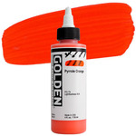 GOLDEN High Flow Acrylics Pyrrole Orange 4 oz