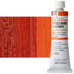 Holbein Artist Oil 40ml Tube Pyrrole Orange Transparent
