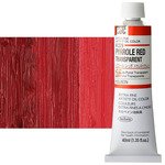 Holbein Artist Oil 40ml Tube Pyrrole Red Transparent
