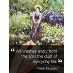 Inspirational Quote Art eGift Card - Pablo Picasso eGift Card