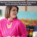 Rachel Christopoulos Signature SoHo Acrylics Painting Sets