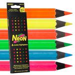 Raffine Neon Jumbo Colored Pencil Set of 6