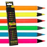 Raffine Neon Colored Pencil Set of 6