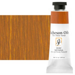 Shiva Signature Permanent Artist Oil Color 37 ml Tube - Raw Sienna