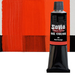 SoHo Urban Artist Oil Color 170 ml Tube - Red Orange