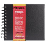 Reflexions Double Wire Sketch Book 6x6""