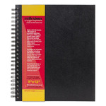 "Reflexions 9x12"" Double Wire Sketch Book Spiral Bound 80 Sheets 70lb"