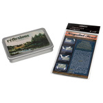 Reflexions 140LB Watercolor Postcards 24ct Tin with Krystal Seal Bags