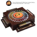 Rembrandt 120 Year Limited Edition Oil Wood Box Set - 120 Colors