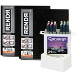 RENDR Pad 2pack + 24ct. Concept Marker Set