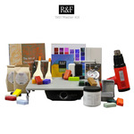 R&F Encaustic Master & Studio Essentials Paint Kits