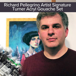 Rich Pellegrino Signature Turner Acryl Gouache Paint Sets