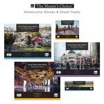 The Master's Choice Watercolor Blocks & Sheet Packs