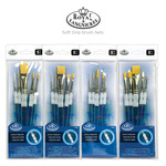 Royal & Langnickel Soft Grip Brush Sets