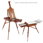 Safari 2 French Easel Walnut Finish