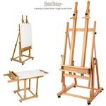 Saint Remy Multi-Angle Wood Studio Easel