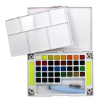 Koi Watercolor 36 Pan And Waterbrush Set