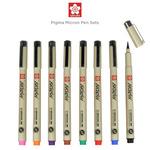 Sakura Pigma Micron Pen Sets