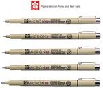 Sakura Pigma Micron Pens and Sets