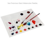 San Francisco Slant Watercolor Palette