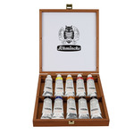 Schmincke Mussini Oil 35 ml Wood Box Set of 10